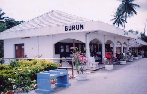 The original Gurun KTMB train station