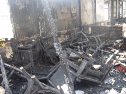 Jalan Petani Burnt house furniture