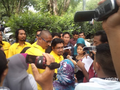 Badrul Hisham Shaharin dari Solidariti Anak Muda Malaysia.