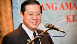 Lim Guan Eng, the Chief Minister of Penang.