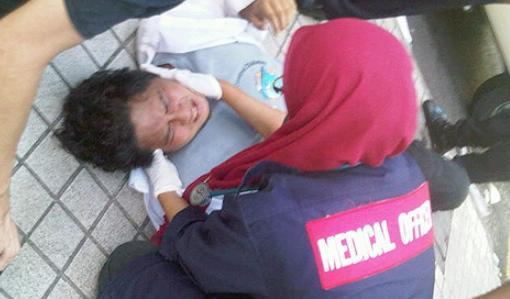 journalists violence in bersih 3.0