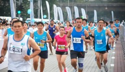 Some 28,000 runners competed in the annual Standard Chartered KL Marathon 2012