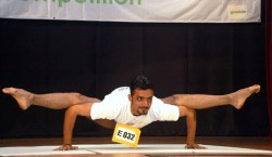 The overall champion Umang Dawn from India with hi superb