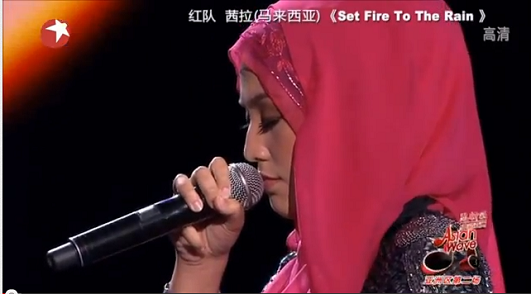 Shila Amzah made it big in China
