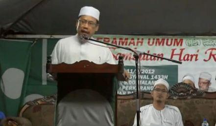 che Abdullah Che Nawi Adun wakaf baru