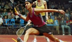 Nicole David World number 1 woman squash player