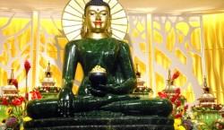 Jade Buddha on display in Kuala Lumpur 2013