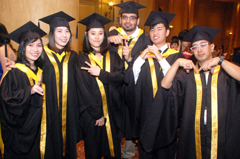 Glamour And Excitement At Raffles College Convocation