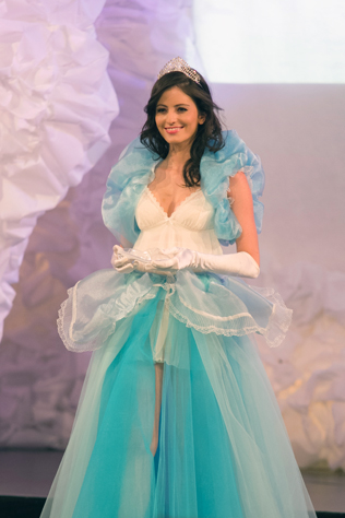 Cinderella wearing Vanessa Collection