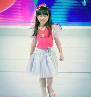 Most Promising Female Kid Model 2013 Valerie Wong