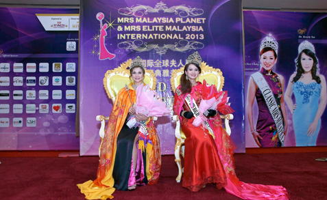 Mrs-Elite-Malaysia-Intl-2013-Tian-Lee-Na-left-Mrs-Malaysia-Planet-2013-Gin-Lim.