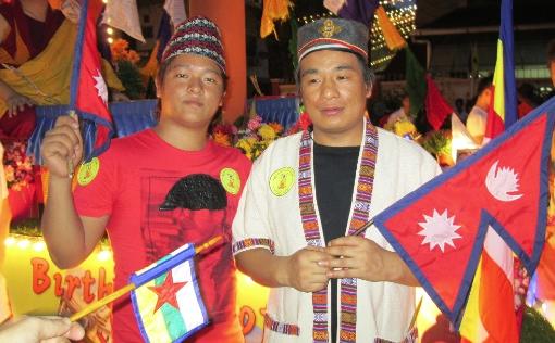 Nepali Migrant Wesak Day Buddha Lumbini Nepal 2
