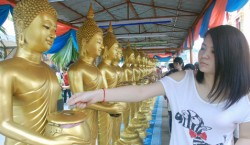 Wesak Day at Thai Buddhist Chetawan Temple,  Petaling Jaya