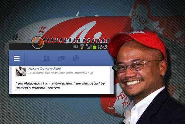 Ketua Pegawai Eksekutif AirAsia X ,Azran Osman Rani