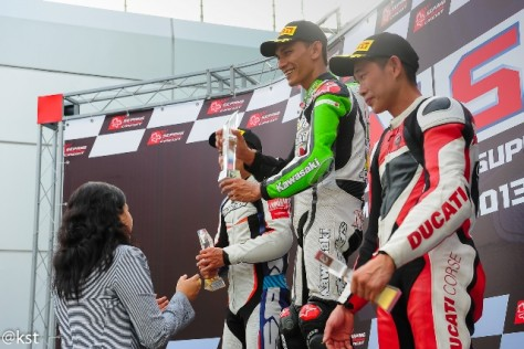 Ahmad Nashrul took the Championship in the SuperStock A category at the Malaysian Super Series 2013