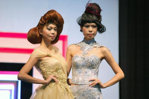 Hair by Winnie Loo - World  Class Hair Show @ IBE 2013 in KLCC