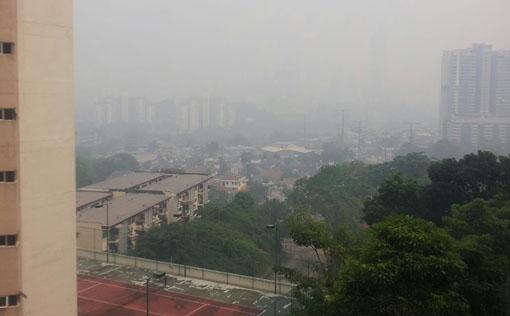 Haze_Jerebu_Taman Desa, Old Klang Road