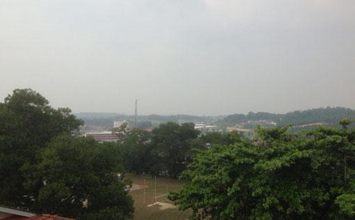Haze_Jerebu_Ulu Tiram Johor