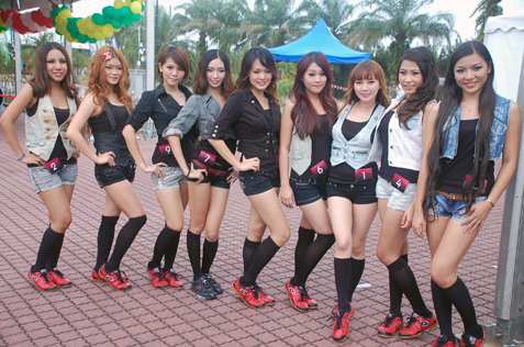 Super GT Queen Malaysia 2013 finalists