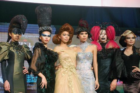 World Class Hair Show @ IBE 2013 KLCC