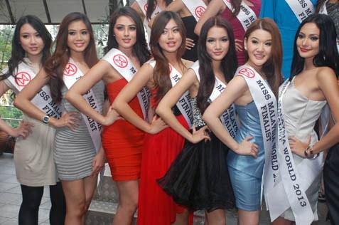 1 Brenda Chong 2 Cassandra Yong 3 Melinder Bhullar 4 Audrey Loke  5 Stephanie Lim 6 Venus Tan 7 Kathrina