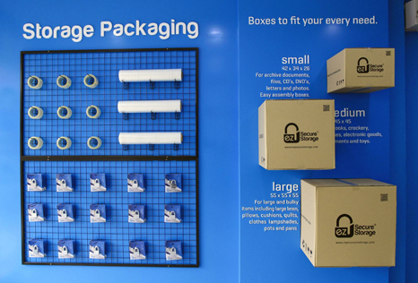 EZ Secure Storage Packaging