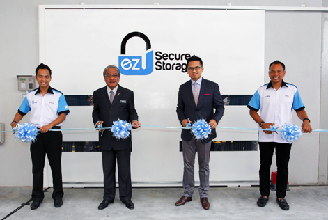 (L-R) Rizal Shah Amat, Dato' Hasan Malek, Datuk Wira SM Faisal Tan Sri SM Nasimuddin and Zulazman Amat