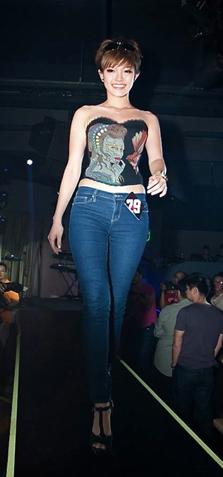 Miss Beautiful Legs Amber Ng