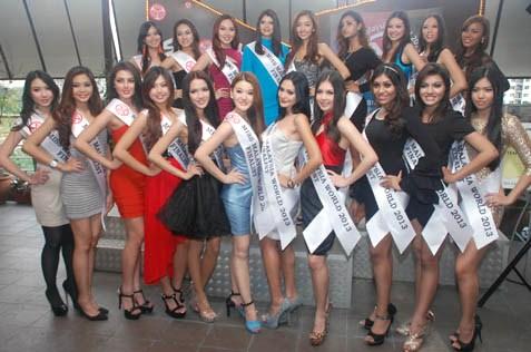 Miss Malaysia World 2013 - 20 finalsists