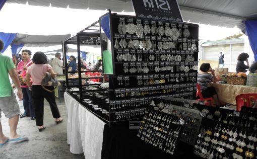Hand-made ear-rings