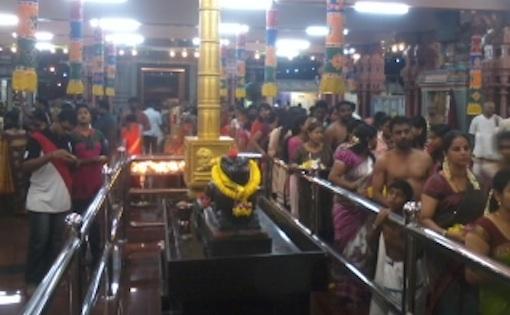 Aadipooram Raja Rajeswari Amman temple Taman Sentosa Klang 2