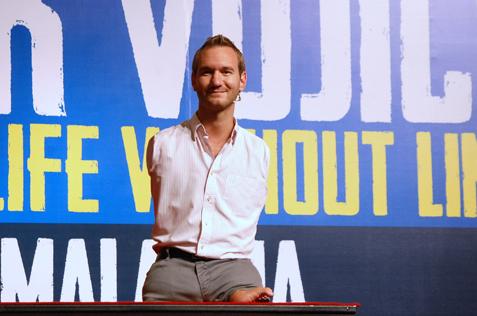 ustralian motivational speaker Nick Vujicic live in Malaysia