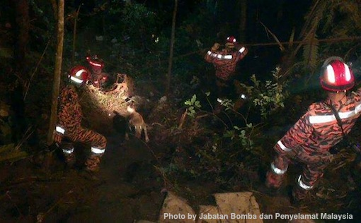 Genting Highlands Accident Bomba Penyelamat Photos 3