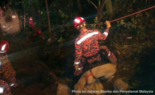 Genting Highlands Accident Bomba Penyelamat Photos 4