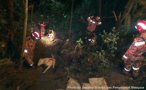 Genting Highlands Accident Bomba Penyelamat Photos 5