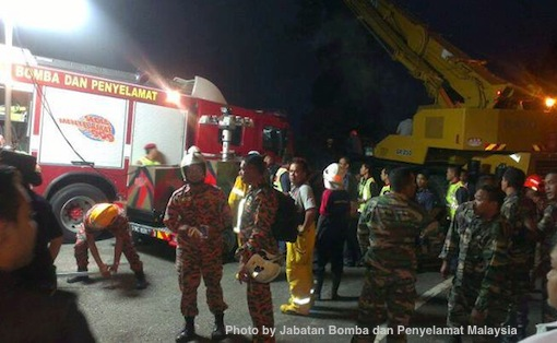 Genting Highlands Accident Bomba Penyelamat Photos 6