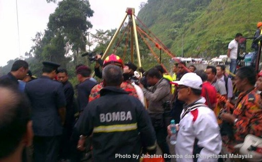 Genting Highlands Accident Bomba Penyelamat Photos 8