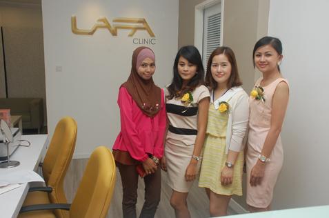 LAFA Clinic staff