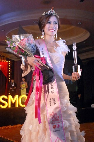Miss Chinese Cosmos Southeast Asia 2013 Bianca Beatrice