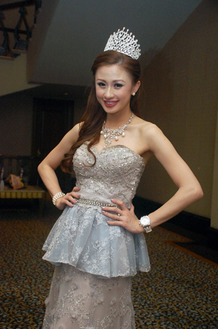 Miss Chinese Cosmos Southeast Asia franchise owner Carrie Lee Sze Kei