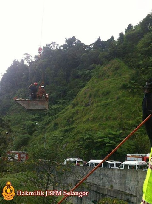 bus accident genting highlands 1