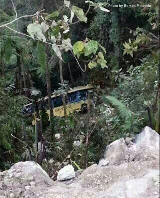 bus accident genting highlands 5