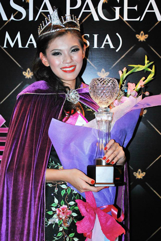 TV Miss Asia Pageant Malaysia 2013 Geena Yew