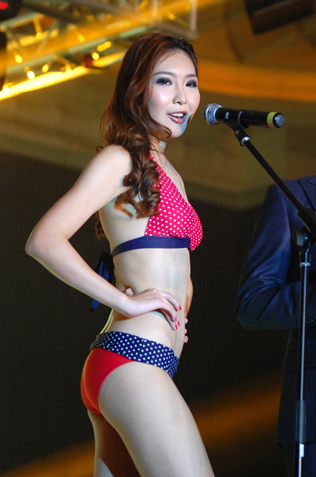 ATV Miss Asia Pageant Malaysia 2013 Miss Perfect Body Chloe Gan