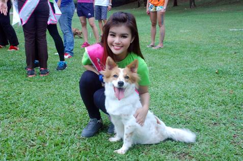ATV Miss Asia Pageant Malaysia 2013 finalist Sharon Kow