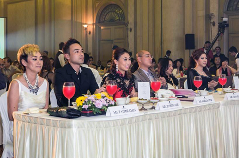 Competition judges for ATV Miss Asia Pageant Malaysia 2013
