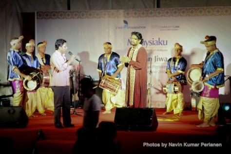 Kuda Kepang and Indian Drummers Malaysia Day Leornado's Jalan Bangkung 10