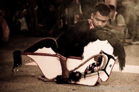 Kuda Kepang and Indian Drummers Malaysia Day Leornado's Jalan Bangkung 11