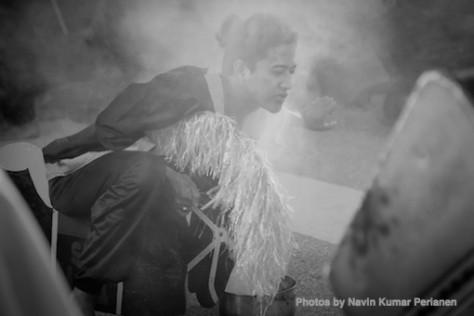 Kuda Kepang and Indian Drummers Malaysia Day Leornado's Jalan Bangkung 15