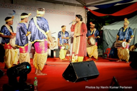 Kuda Kepang and Indian Drummers Malaysia Day Leornado's Jalan Bangkung 5